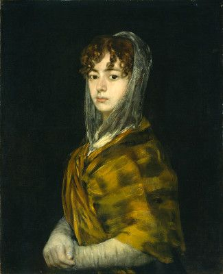 Goya, Francisco de Spanish, 1746 - 1828 Señora Sabasa Garcia c. 1806/1811 oil on canvas
