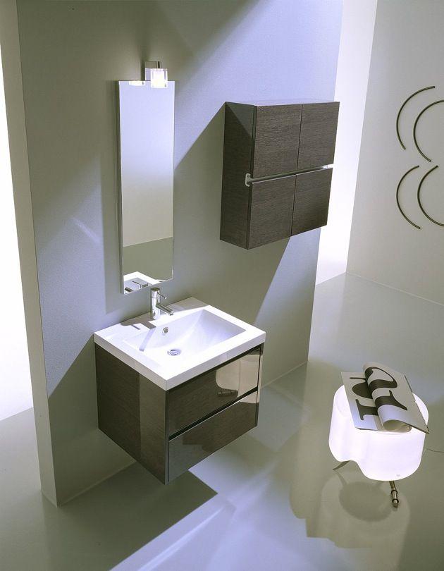 Estremamente pratico, con soli 60 cm di larghezza, utile soprattutto nel bagno zona notte #arredobagno #bagno #puntotre