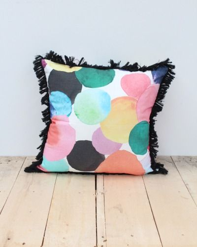 And There She Was Cushion