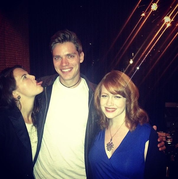 Zoey Deutch, Dominic Sherwood and Richelle Mead.