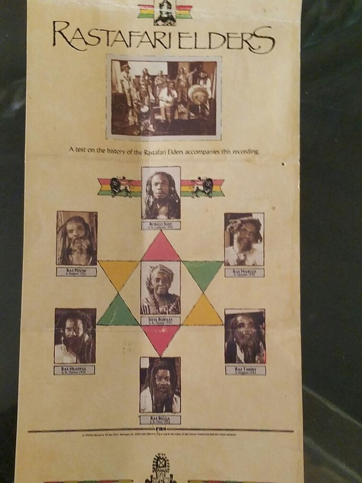 The rastafari Elders Album 98 best Historical