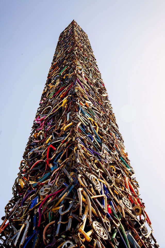 Bicycle Obelisk - Santa Rosa, CA