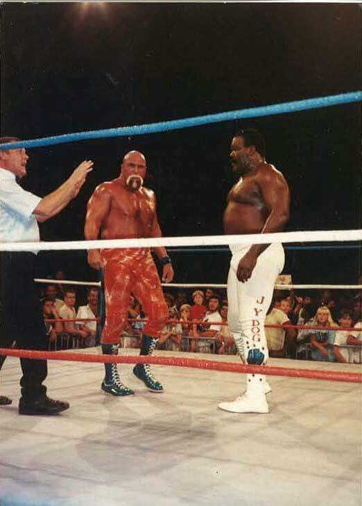Superstar Billy Graham and JYD