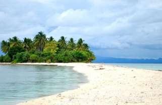 Heaven's Sandbar in Tacloban Philippines