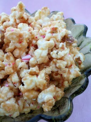 ... Popcorn, Candy Cane White Chocolate Popcorn, & Peanut Butter Chocolate