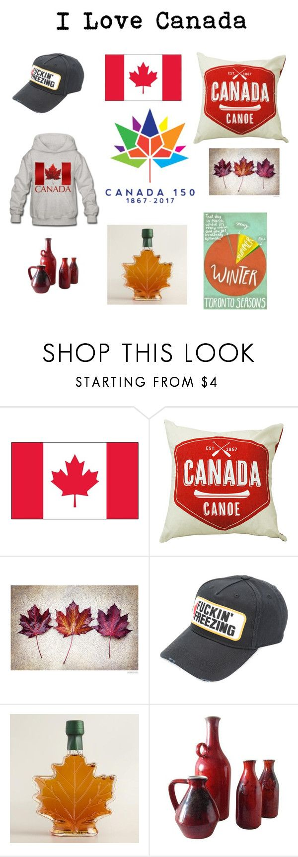"""""""Canada"""" by fred-the-muppet on Polyvore featuring Dsquared2"""