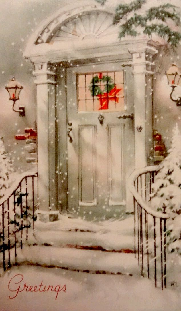 Holiday greetings. #vintage #christmas #vintagechristmas