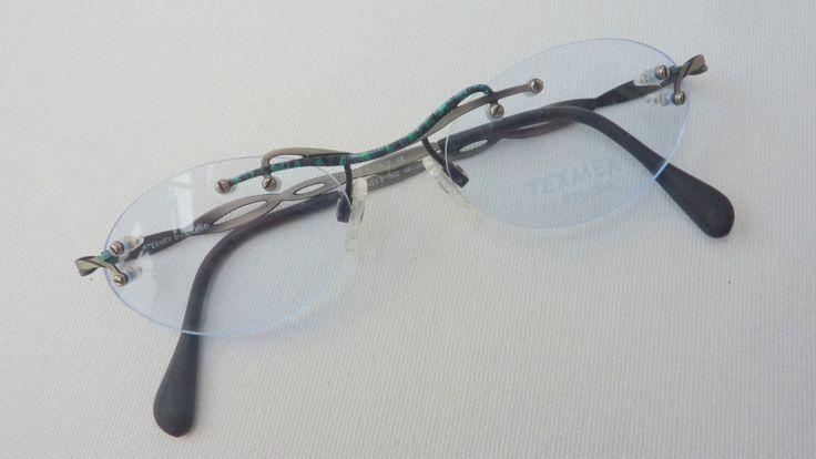 ausgefallene Damen Frauen Brille Brillengestell Fassung randlos Neu Bohrbrille | eBay