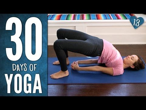 Day 13 - Endurance & Ease - 30 Days Of Yoga - YouTube