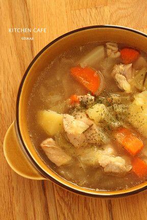 キャベツでおいしい!絶品!簡単!人気のスープレシピ10選|All About ... キャベツたっぷり♪ポークチキンスープレシピ
