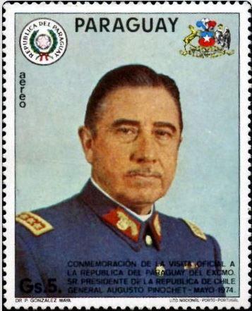 General Augusto Pinochet (Chile) 1974