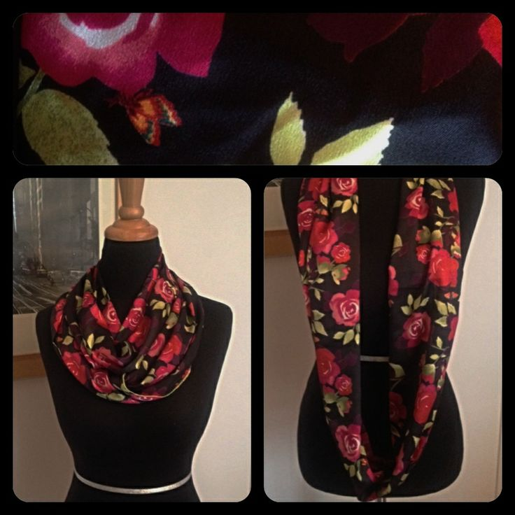 Spring 2014 Collection Silk Infinity Scarf