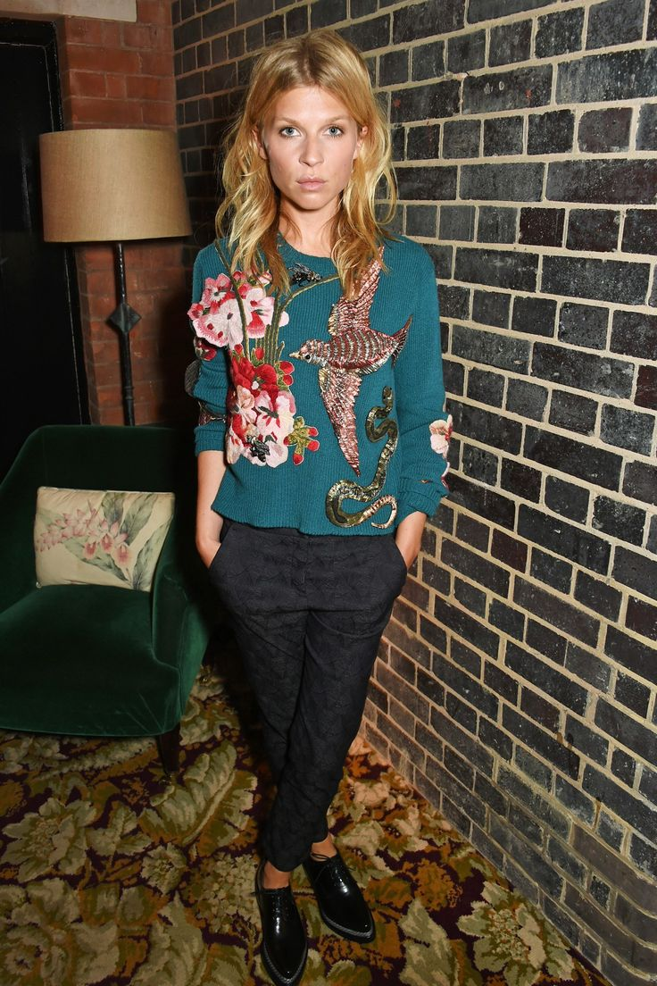 Clémence Poésy | Gucci's Girls And Guys - Celebrities Wearing Designs By Alessandro Michele