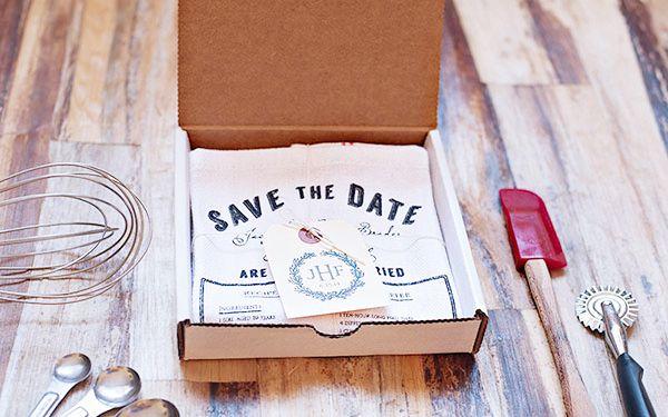 Oh So Beautiful Paper: Peter + Kristy's Rustic Letterpress Wedding Invitations