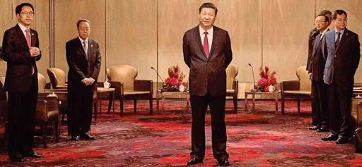Xi a Hong Kong con i fedelissimi  «Come il  Padrino con la sua cupola» - Corriere.it