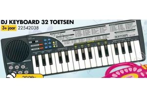dj keyboard 32 toetsen bontempi