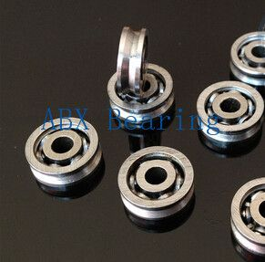10pcs/lot V623 623 V groove ball bearing 3x10x3mm Traces walking guide rail bearings (carbon steel low speed) open type #shoes, #jewelry, #women, #men, #hats, #watches