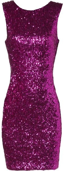 I really want a sequin cocktail dress. And a body that looks good in one.