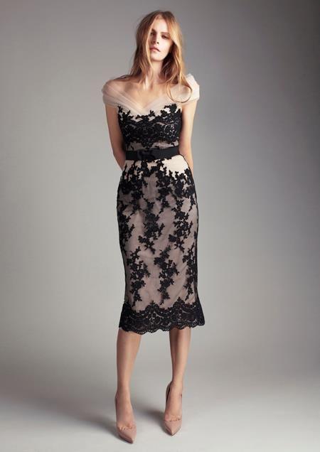 Vestido de coctel de Colette Dinnigan.