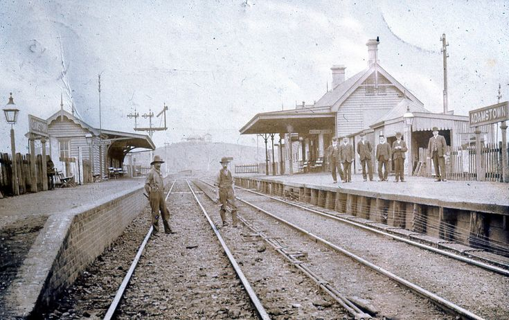 https://flic.kr/p/djP8sM | C918-0471 Adamstown railway station, c.1908 | This image was scanned from a 35mm slide taken by the late Dr John Turner (1933 - 1998), local historian and lecturer. His collection is rich in Australian history and local studies. This image can be used for study and personal research purposes. If you wish to reproduce this image for any other purpose you must obtain permission by contacting the University of Newcastle's Cultural Collections. Please contact us if you…