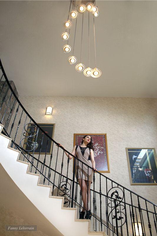 #lobby #condo #fashion #shooting #photography #studio #lights #stairs ©Fanny Lelorrain