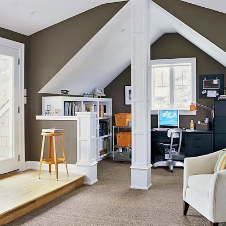 ravishing cool office designs workspace. So Cool- This Is My Previous Design Supervisor\u0027s Home- Featured In BHG- Here\u0027s Her Lovely Attic Makeover, But All Other Photos Are Of Home Too. Ravishing Cool Office Designs Workspace