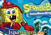 Bob Esponja SnowBoarding: Juego de bob esponja, ayudalos atravezar toda el camino con su SnowBoarding y ganar muchos puntos en el camino, ten cuidado de no caer, divertido juegos http://www.ispajuegos.com/jugar4998-Bob-Esponja-SnowBoarding.html