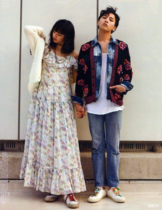 G Dragon y Nana Komatsu / NYLON