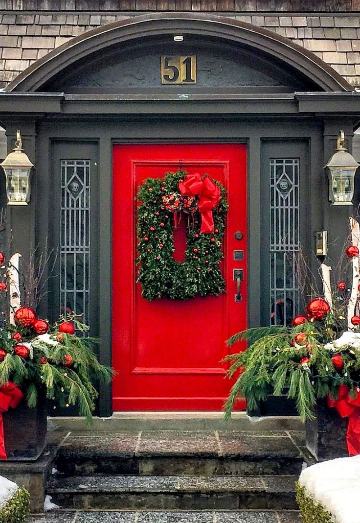 St. Catharines, Ontario, Canada ..rh #myobsessionwithreddoors (this one's a beauty)