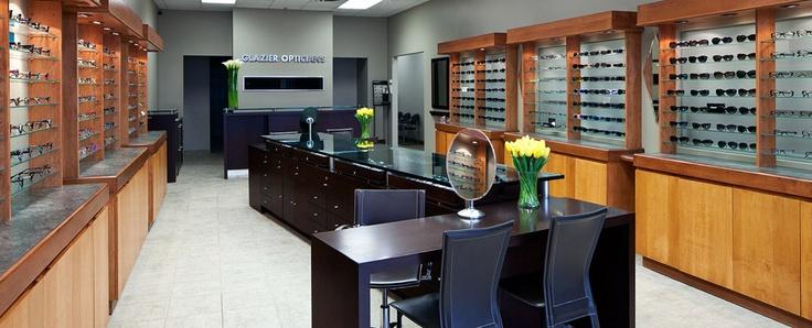 Glazier Opticians for upscale, designer eyewear