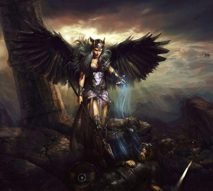 Par Freyja je vous souhaite la bienvenue! Eee0faa54e7c0dce05eadc5a04bd2f4f--valkyria-norse-mythology