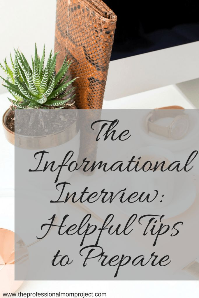 The Informational Interview Tips for Students Considering