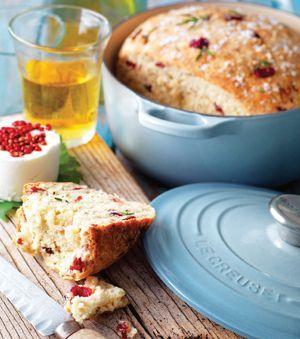 Cranberry, Rosemary & Salt Bread.