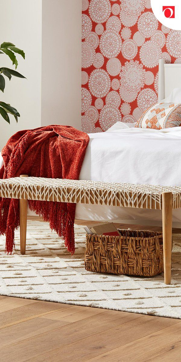 Add Some Stylish Seating To Your Bedroom With Ottomans From Overstock Where Quality Costs Less And You Ll Ge Rustic Bedroom Decor Home Decor Unique Home Decor