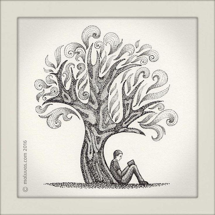 #inktober2016 day14 = tree