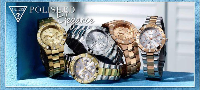 GUESS!!! Μοντέρνα ρολόγια σε μοναδικές τιμές! Δείτε όλη τη συλλογή εδώ: http://www.oroloi.gr/index.php?cPath=387