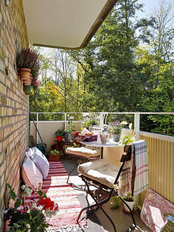 61 mejores im genes sobre deco jardines y balcones en - Decora tu terraza ...