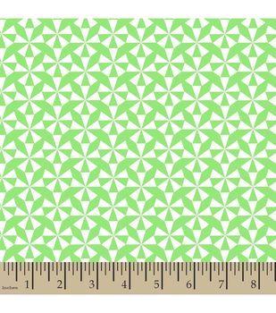 Jennifer Paganelli Quilt Fabric- Pearl Geometric