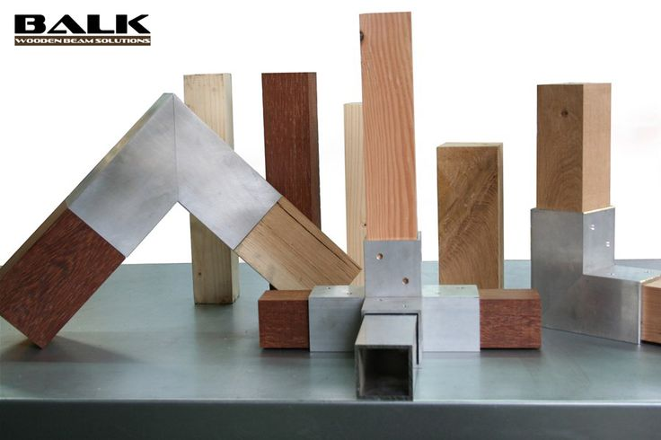 BALK connectors / couplings / joints / fittings / corner pieces for wooden beams.