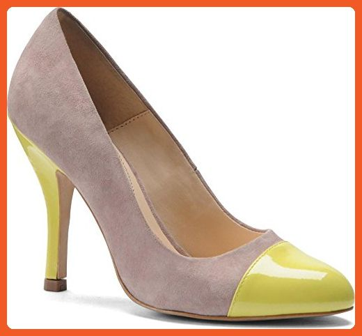 Women's Classic Pumps For Sale Isola Women Aira Blush Suede/Mellow Yellow Patent 6213022 Discount Off 60%