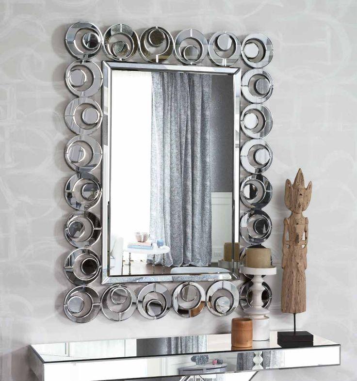 20 mejores im genes de espejos de dise o en pinterest for Decorar marco espejo