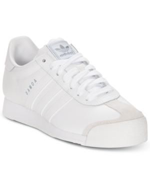 adidas Men's Shoes, Samoa Sneakers Shoes MEN Your sporty style doesn't have to stop when you leave the field with the adidas Originals Samoa sneakers. These ultra-popular '80s throwbacks... More Details