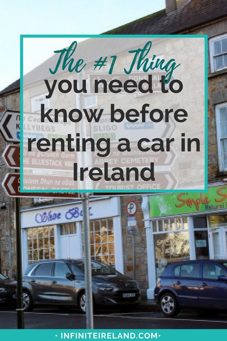 The most important thing to purchase when renting your car in Ireland? It's not the GPS or even the wifi. It's Super Collision Damage Waiver. Here's why it's so important & a few other fees you should expect to pay.