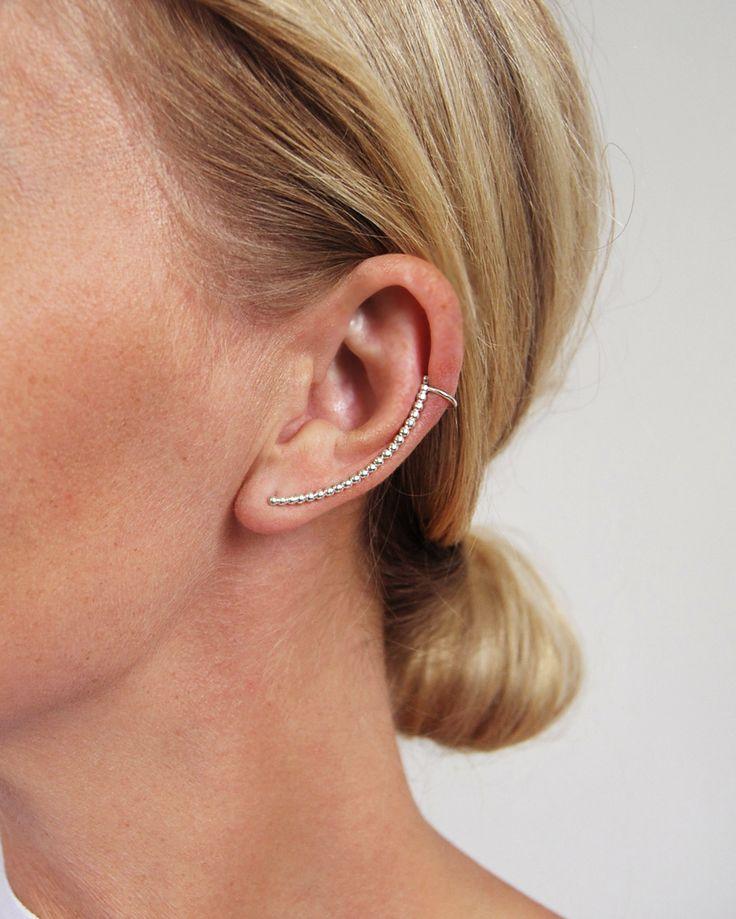 1. MILA BOW ear cuff, kultråd