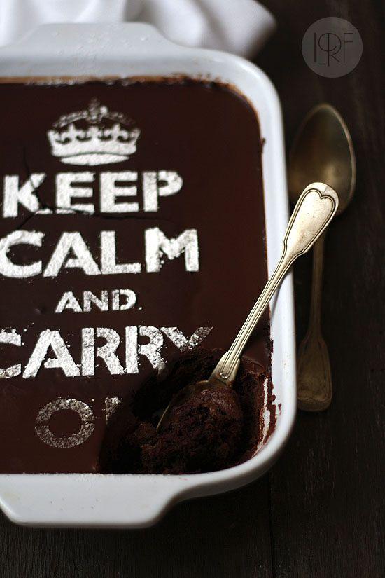 Tarta de chocolate sencilla (sin huevos ni lácteos)