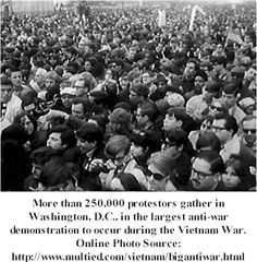 001 Over 250,000 people gathered in Washington D.C to protest