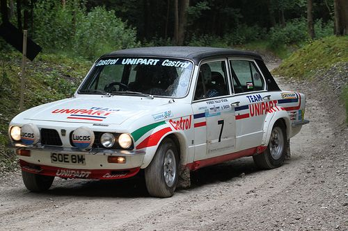 Triumph Dolomite Sprint.