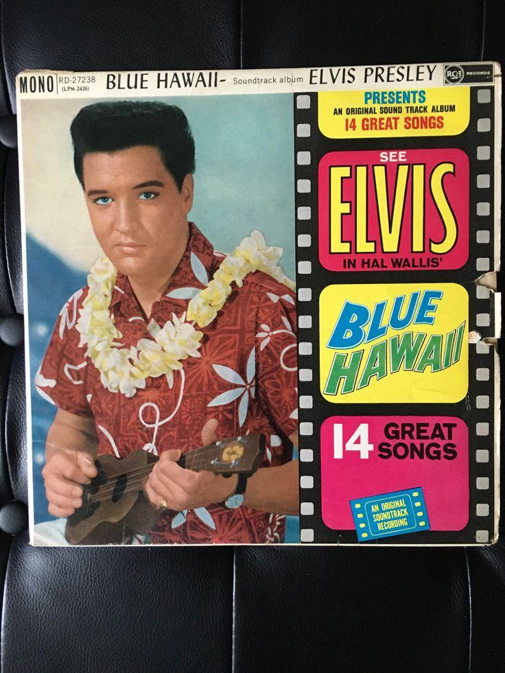 Elvis Presley Blue Hawaii Original 1st Release 1961 Mono Vinyl Album By NicholasAllSorts On Etsy Wedding SongsElvis