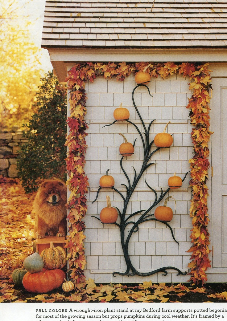 102 best MS-CanticoeCorners images on Pinterest Architecture - martha stewart outdoor halloween decorations
