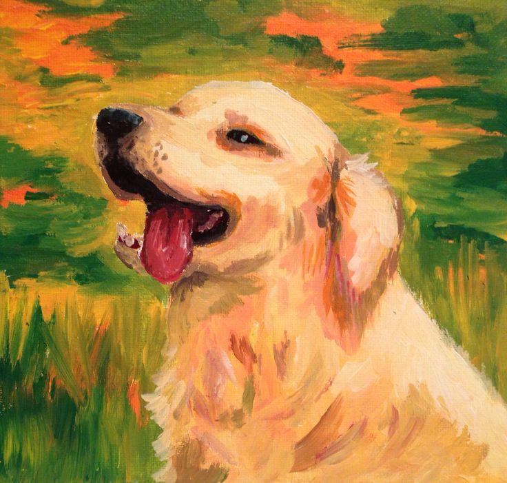 Labrador  Acrylic on canvas  2015